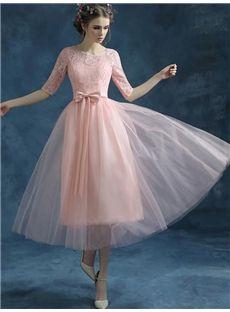 袖つきの着心地最高の甘え着やせロングドレス イブニングドレス