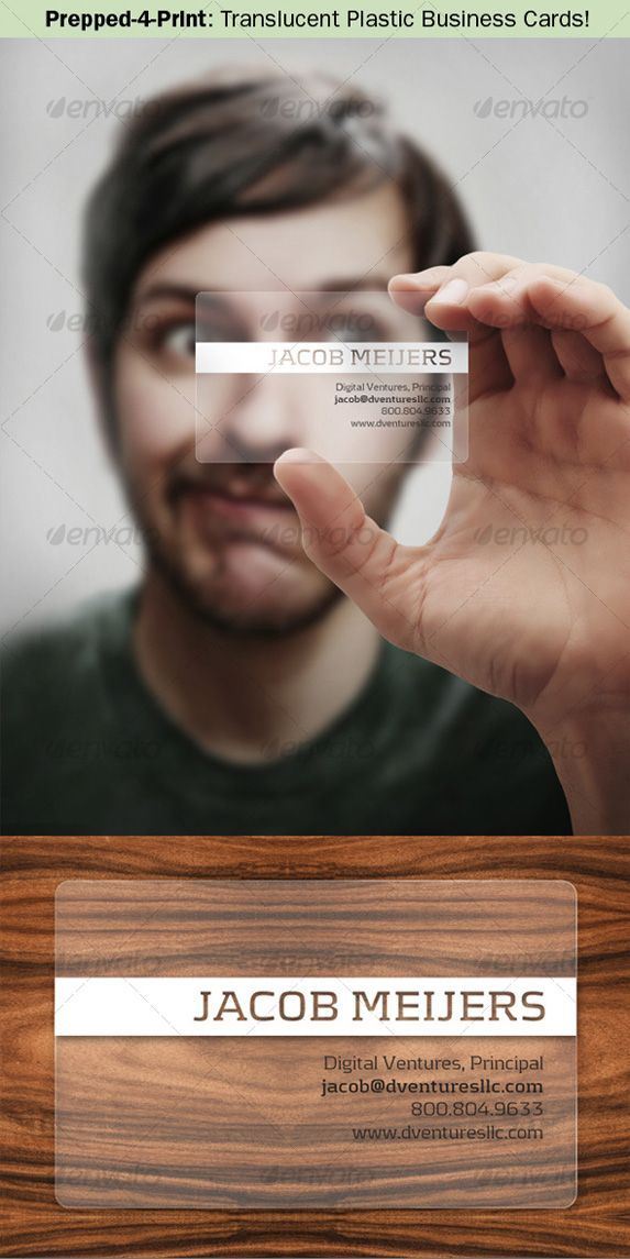 186 best Transparent Business Cards Arc Reactions images on ...