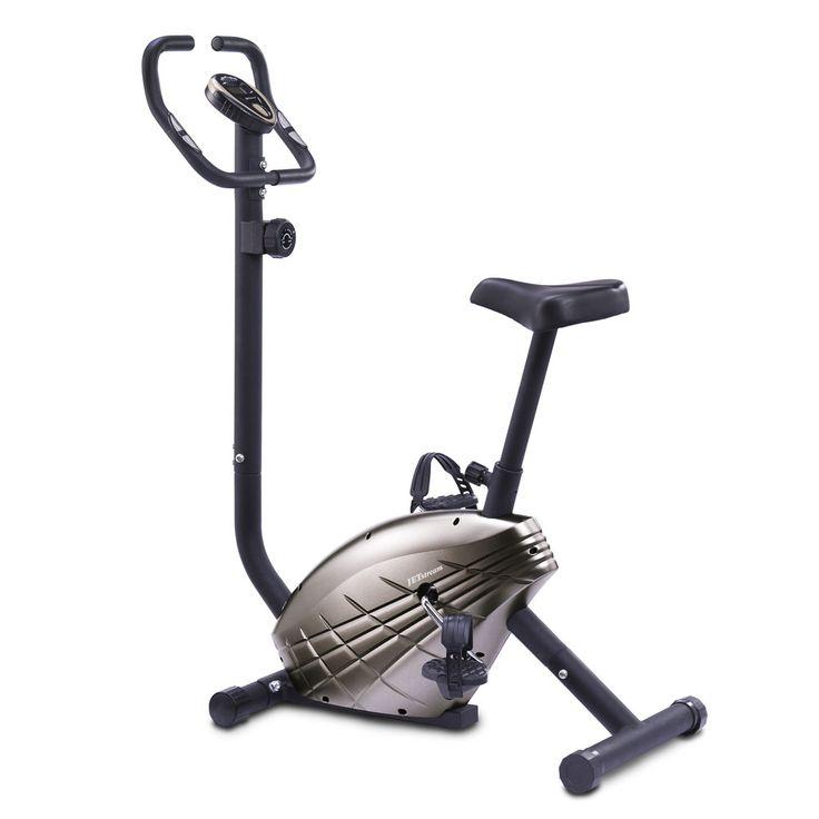 Bicicleta Estática Jet Stream JC-520 con resistencia magnética, 8 niveles de esfuerzo y monitor LCD.  #bicicletaestatica