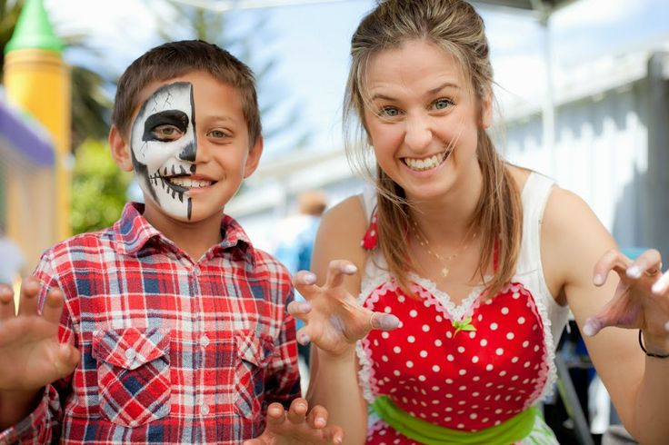 Fun face painters for your kids party! Auckland face painting services.
