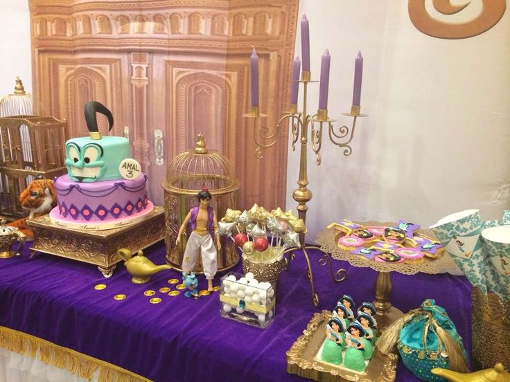 Princess Jasmine Birthday Party Ideas