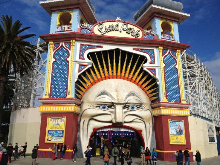 Luna Park, #Melbourne Australia