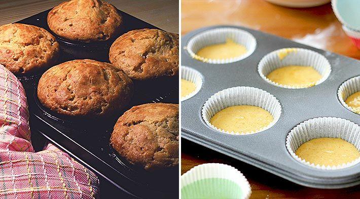 Low Carb Rezept für leckere Low-Carb Vanille-Muffins. Wenig Kohlenhydrate und einfachzumNachkochen. Super für Diät/zum Abnehmen.