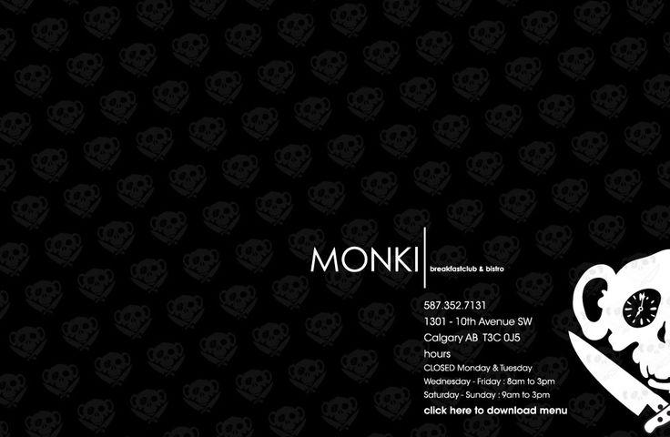 MONKI breakfastclub & bistro - Calgary, Alberta - CANADA