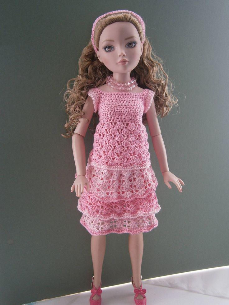 2351 best barbies images on Pinterest | Crochet dolls, Crochet ...