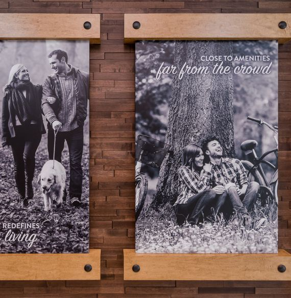 Distrikt Homes property development #showhome and presentation centre at Hyde Canyon in #LangleyBC #developer #homebuilder #distinktlydifferent #newhomeconstruction #showhomes #residential #realestate #LowerMainland #company Branding and web design by #Studiothink / Vancouver, BC #SurreyBC #branding #design #stationery #brochure #website #webdesign #creative #agency