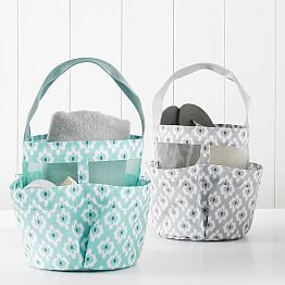 shower mesh caddy bohemian paisley