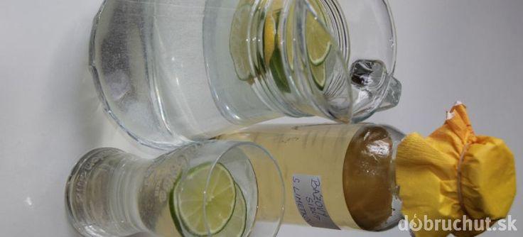 Bazový sirup s limetkami