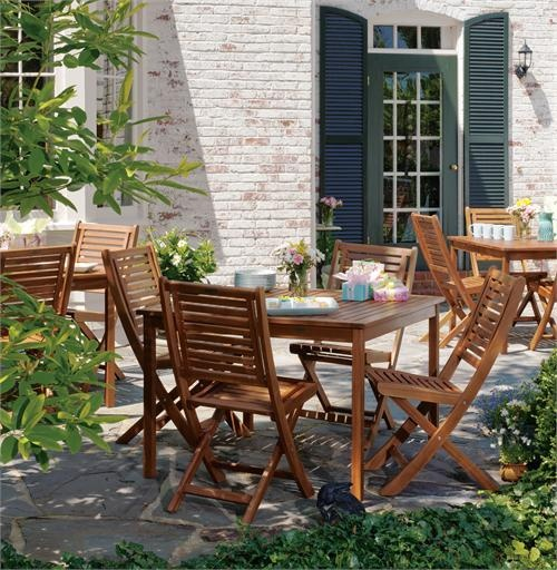 Using materials such as shorea wood, teak and resin wicker, Oxford Garden  outdoor furniture exemplifies affordable luxury.