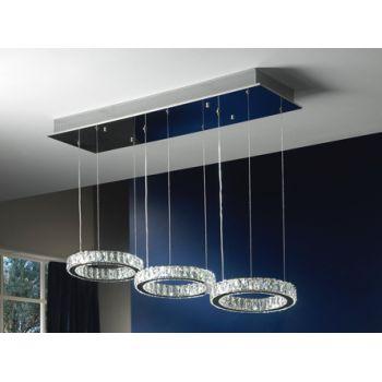 Schuller 754361 LAMPARA LED DEBRA 3 TULIPAS