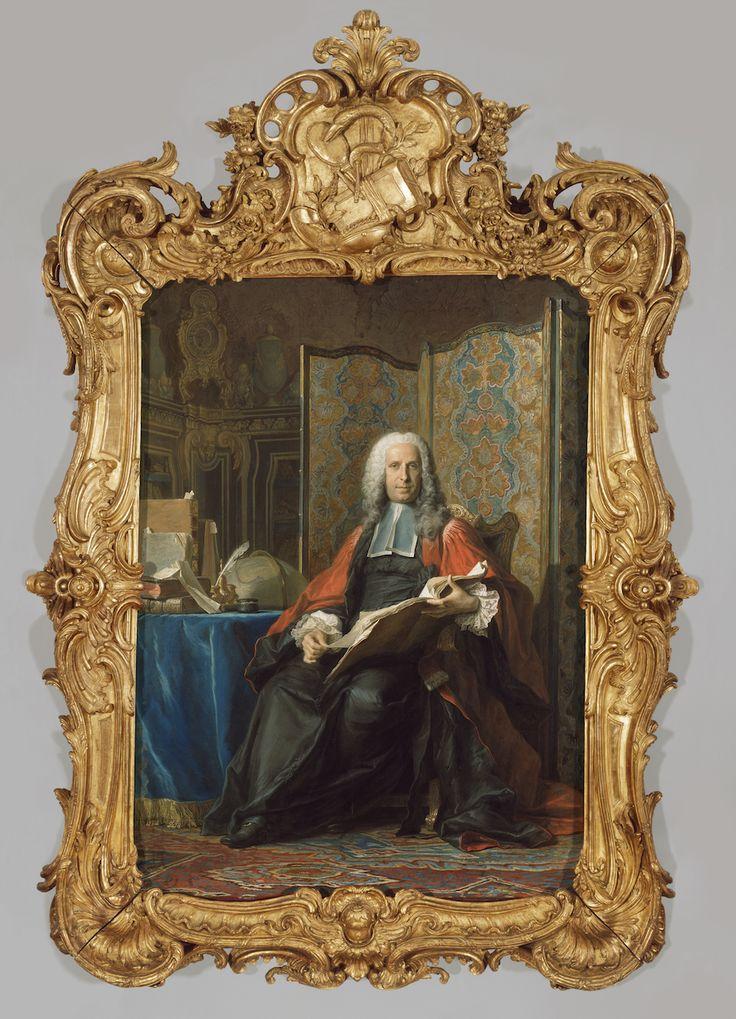 Maurice Quentin De La Tour Quot Portrait Of Gabriel Bernard