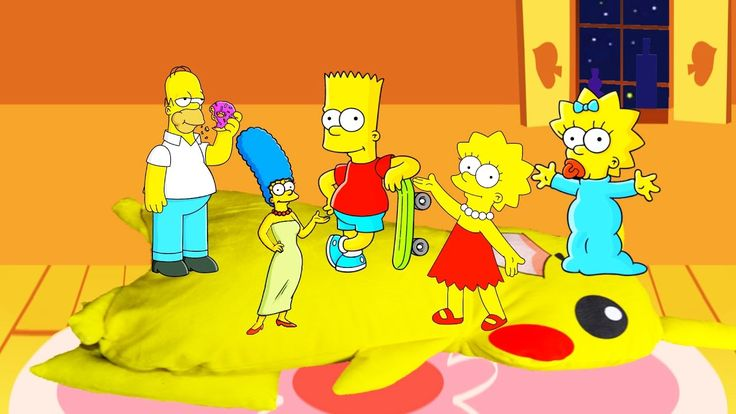 The Simpsons Jumping on the Bed Nursery Rhymes