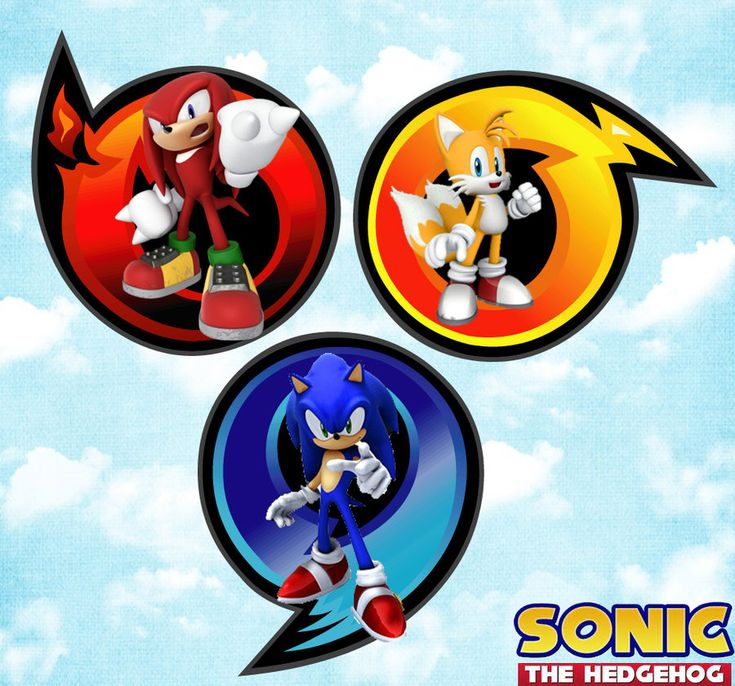 Sonic heroes user tile by thedominator277