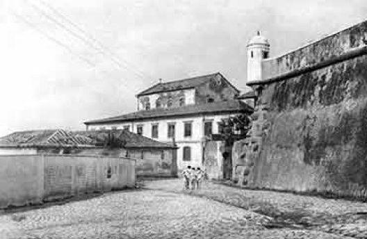 Morro da Conceição em 1940