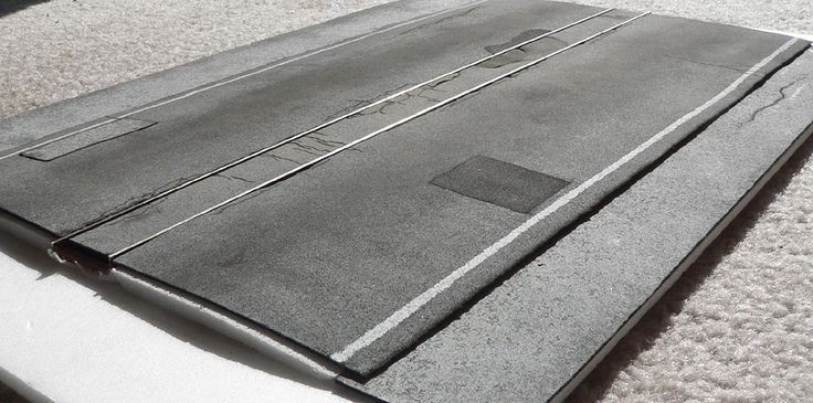 Modeling Asphalt roads | Model Railroad Hobbyist magazine | Having fun with model trains | Instant access to model railway resources without...
