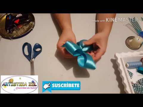 Como hacer Corsage Baby Shower!!!! - YouTube