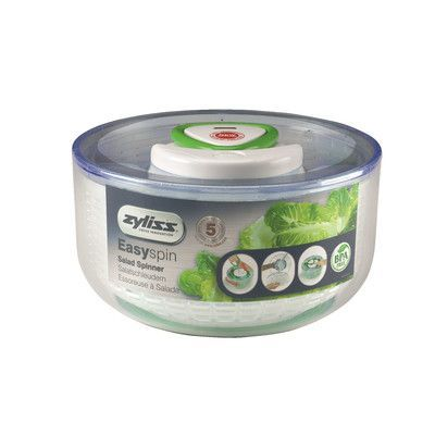Zyliss Salad Spinner Color: White
