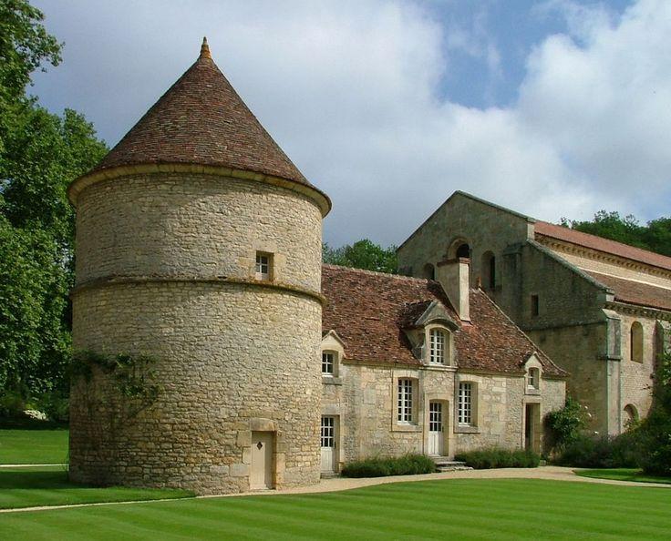 Abbaye de Fontenay - le pigeonnier