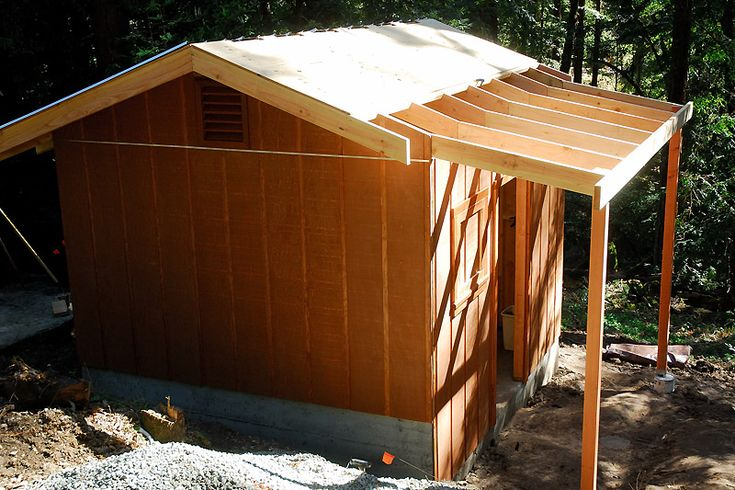 Phenomenal tutorial for building a goat shed. Instructions on the whys and hows.