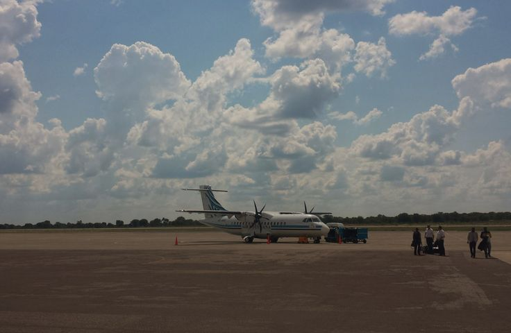 After a busy two days in Johannesburg I met the rest of the group at the airport to fly into Maun in Botswana. This is the Air Botswana plane that brought us to the heart of the Okavango Delta, Maun #botswanasafari2015  As you know I was travelling with Sunway Safaris and you're going to be hearing a lot about this excellent company in coming articles on the blog.