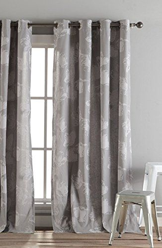 Kensie Home Aster Curtains 2 Panels 54 X 84 Quot Eyelet