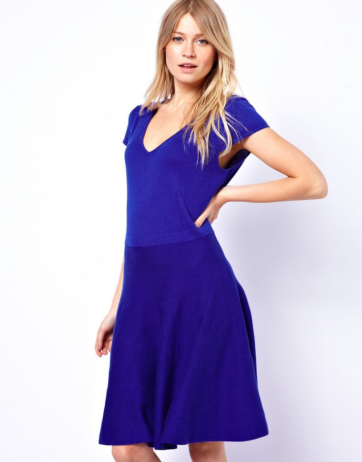 Oasis Fit And Flare Dress