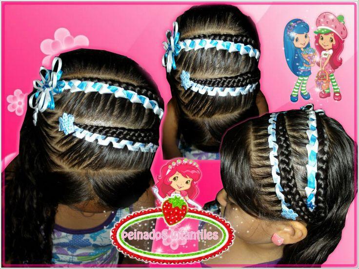 Monik Duran Peinados Infantiles Para Biograf Facebook