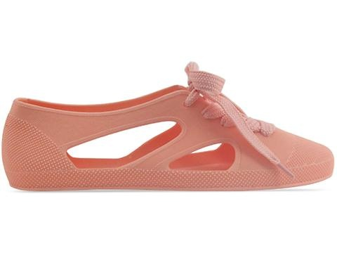 F Troupe K106 in Pastel Peach. Scuse my shoe pun, but these are FLAT OUT CUTE.