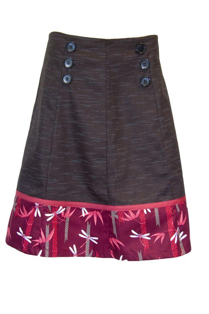 Sailor skirt - 100% Japanese cotton. Ethically handmade in Australia.
