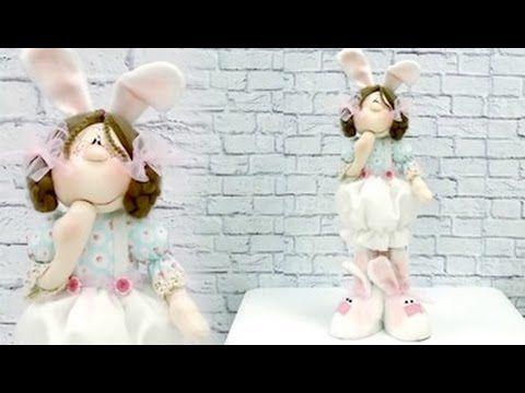 Curso online: Boneca Coelha com Alejandra Sandes www.atelienaweb.com.br