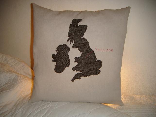 United Kingdom Map Cushion £35.00