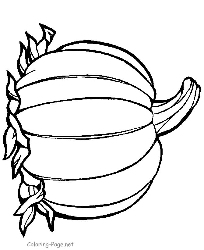 Thanksgiving Coloring Page Pumpkin 3 Stencils Clip Art Happy Pages Printable