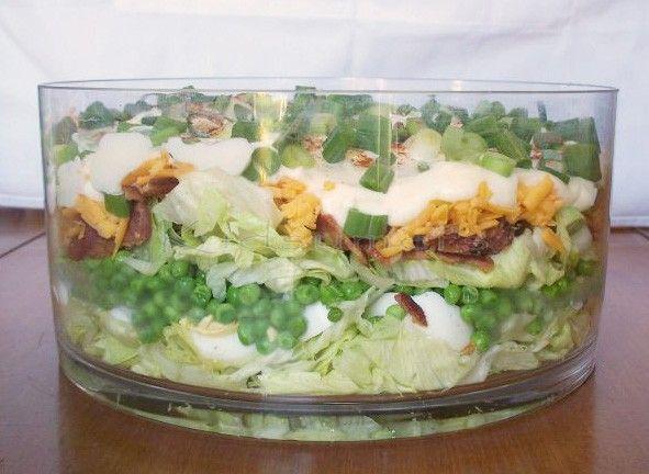 ... Layer Salad on Pinterest   7 Layer Salad, Salad and Salad Recipes