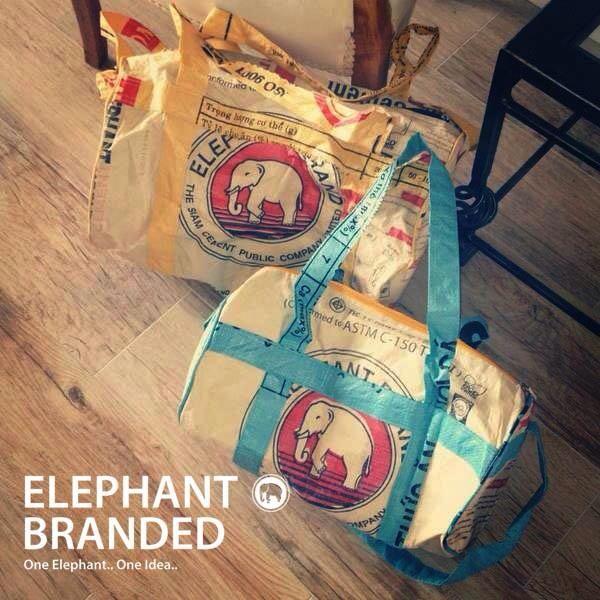 Elephant branded bags ✌️