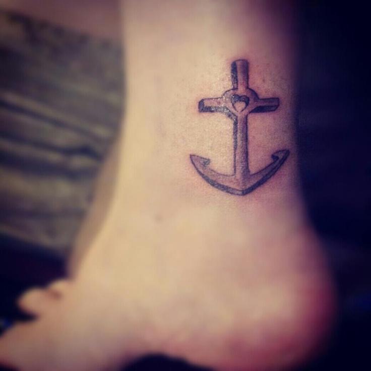 Faith Love And Hope Bracelet Tattoo On Ankle: Faith, Hope, And Love Ankle Tattoo
