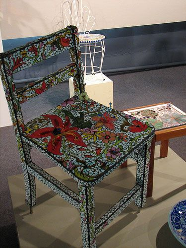 17 Best Images About Mosaic Chairs On Pinterest Hand