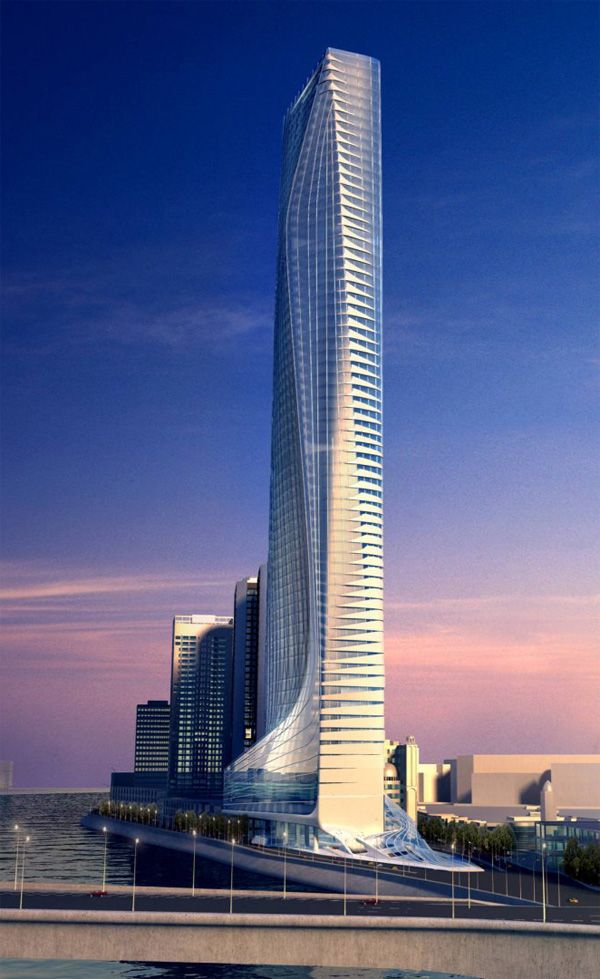 Nile Tower, Cairo, Egypt by Zaha Hadid #architecture ☮k ...