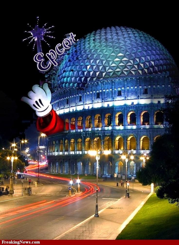 Disney Colosseum pictures