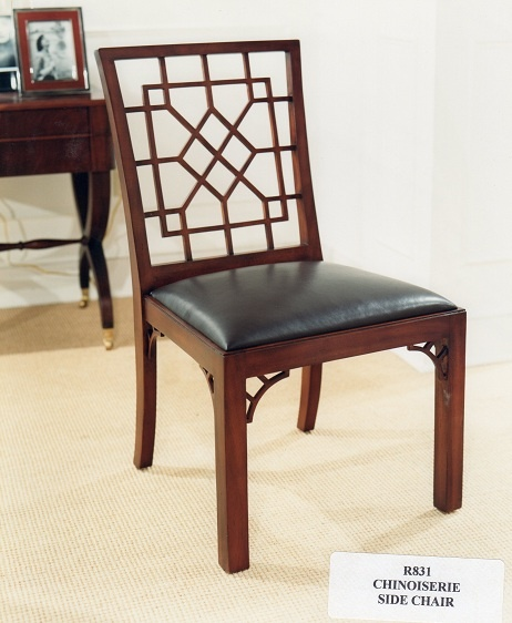 Ralph Lauren Chinoiserie Dining Side Chair (Retired / Vintage)  Www.PacificHeightsPlace.com
