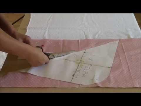 """Como hacer una toalla de bebé. """"Patrón gratis"""" con patronesmujer. - YouTube"""