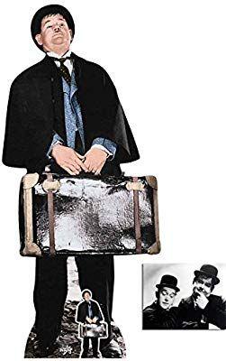 Standee Standup Laurel Hardy Stan Laurel Lifesize and Mini Cardboard Cutout