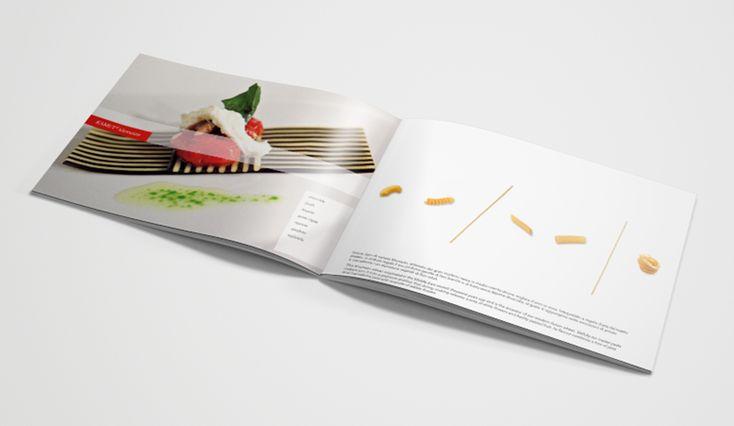 CLIENTE Felicetti. Depliant per il brand Monograno Felicetti. Pasta di qualità con acqua pura di sorgiva e una sola varietà di grano. Pagine interne. #pasta #depliant #felicetti #grafica #design