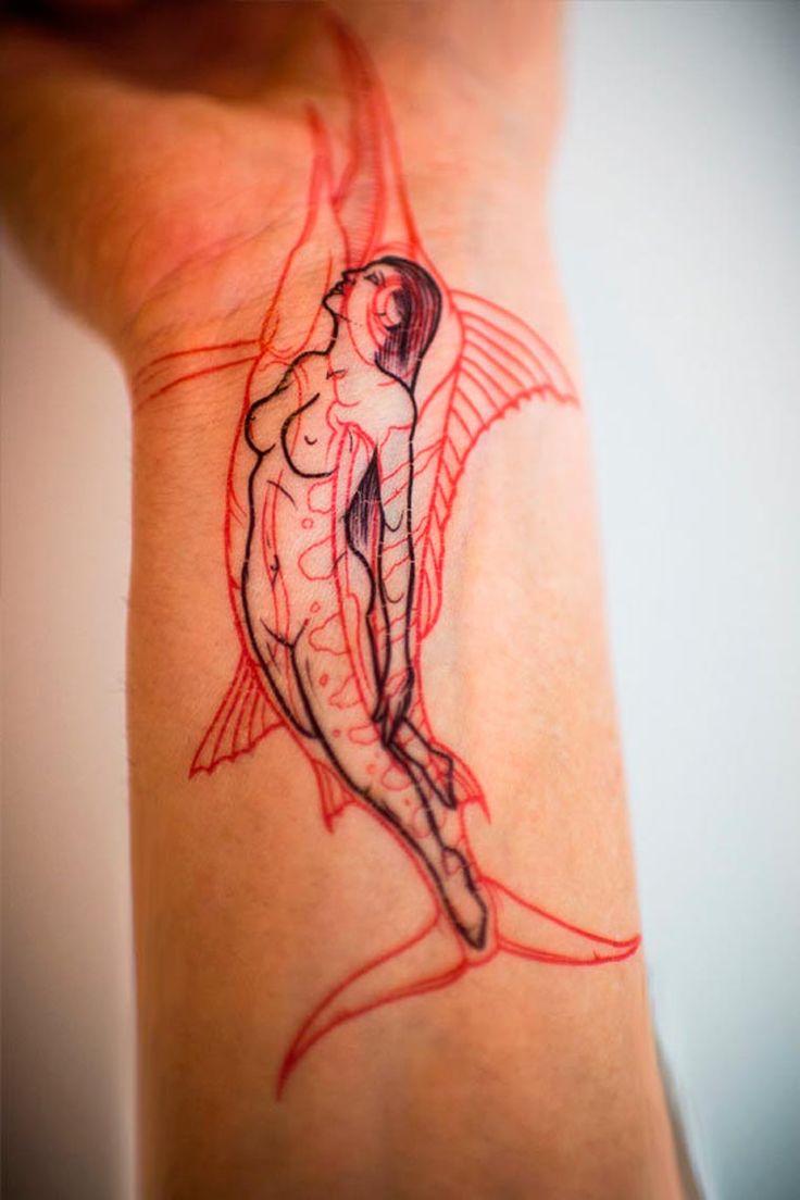 Tattoo You – Des tatouages temporaires imaginés par des tatoueurs célèbres