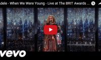 Adele – When We Were Young – Live at The BRIT Awards 2016 Next up at The BRIT Awards (often simply called the Brits), is Adele singing one of her hits, 'When We Were Young' …