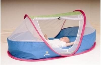camping bunk beds cots | ... Pop-UP PEA POD Baby Toddler Tent Camping Bed Travel COT Holidays BAG