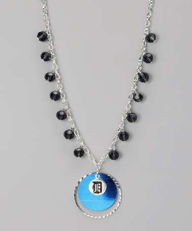 Take a look at this Detroit Tigers Game-Day Necklace by LogoArt on #zulily today!