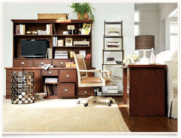 Ballard Designs  Kendall Office  Home Offices, Craft Rooms & Work…