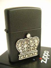 King of Bling Crown Swarovski Crystal Zippo Lighter | by Navybrat22