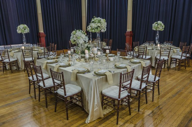 Square Central Bridal Table