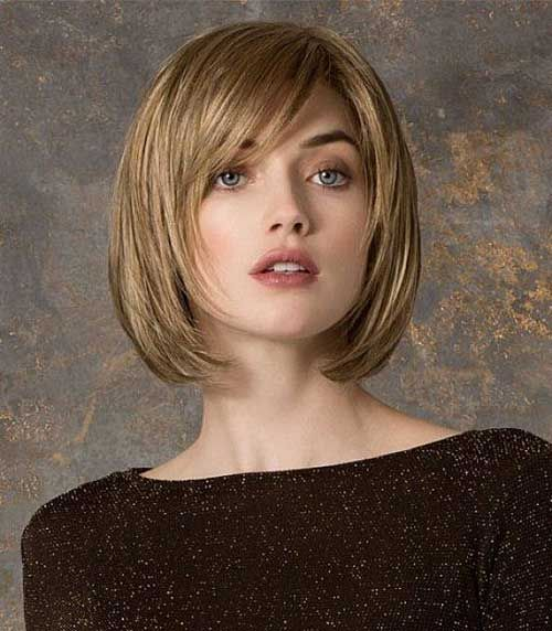 If You Have Cute Round Face Type These 10 Bob Cut Hairstyles For Faces Will Really Great Ideas There Is So Many Style